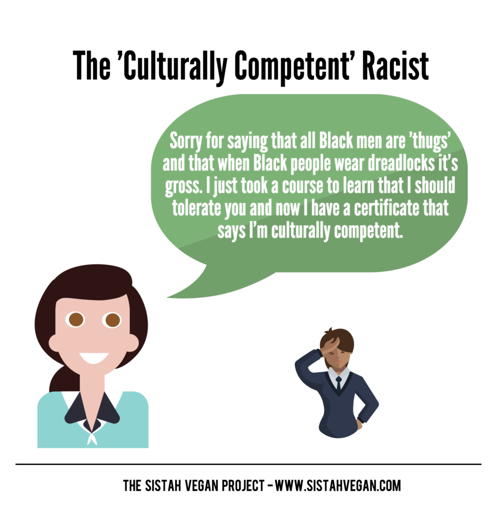 The Culturally Competent Racist and Sanitizing White Supremacy