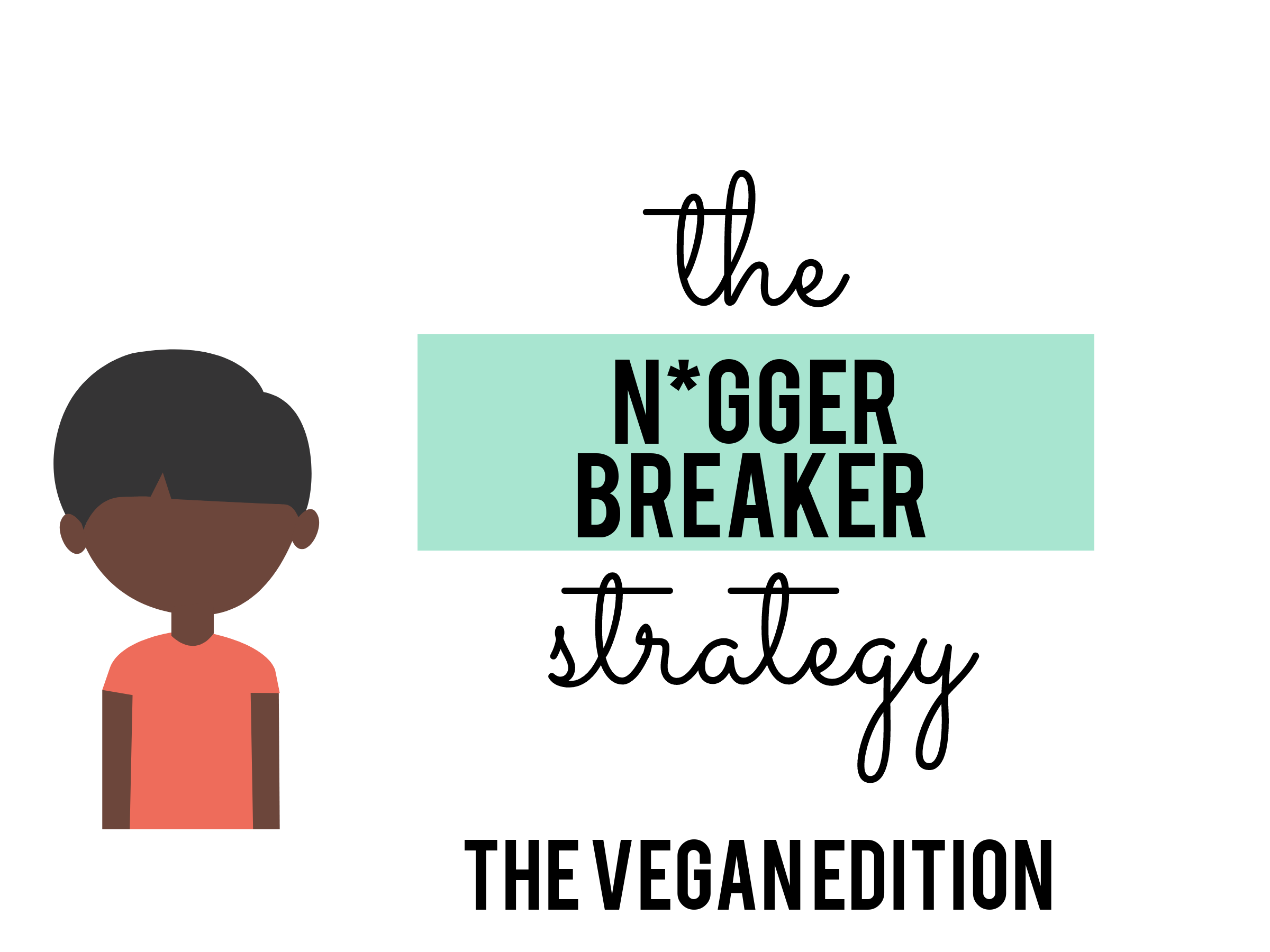 The Return of the N*gger Breakers: The [White Racist] Vegan Playbook