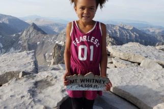 6 Year Old Girl Climbs Mt. Whitney and Happens to Be Sistah Vegan's Daughter